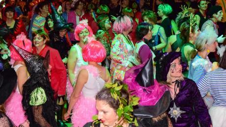 Ausgelassen feierten die Besucherinnen im vergangenen Jahr beim Weiberfasching in der Schwabmünchner Stadthalle. Wegen Corona fällt die Veranstaltung 2021 aus.