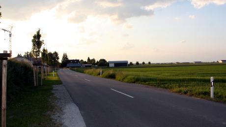 """In Langerringen hat sich in den vergangenen sechs Jahren einiges getan: So entstand ein Baugebiet """"An der Hurlacher Straße""""."""