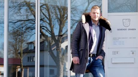 Sieg für Steffen Tölzer: Der Rekordspieler der Augsburger Panther trat für die Liste Wir für Graben bei der Kommunalwahl an und schaffte es mit 565 Stimmen in den Gemeinderat.