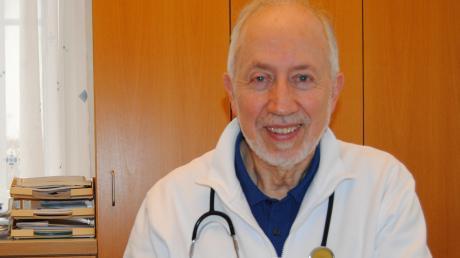Der Hausarzt Dr. Alois Schäffler hört in Bobingen auf.