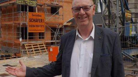 Neue Bauplätze auszuweisen war Josef Böck wichtig.