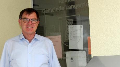 Nach drei Amtszeiten hört Konrad Dobler als Bürgermeister von Langerringen auf. Corona sorgte für ein nervenaufreibendes Ende.