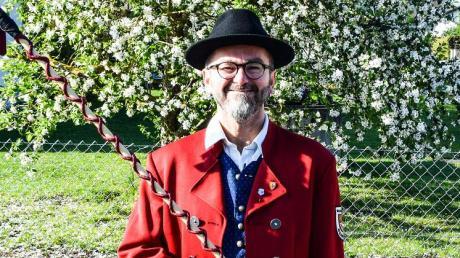 Andreas Jähnert wird heute 50 und hat als Vorsitzender des Wehringer Musikvereins viel bewegt.