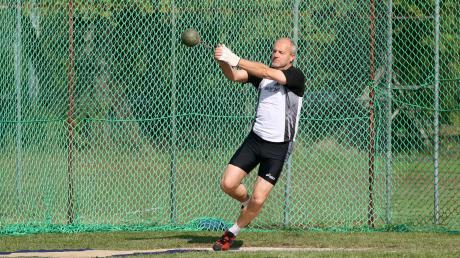 Hubert Berger aus Graben gehört zu den erfolgreichsten Leichtathleten des Landkreises.