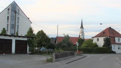 Die Bebauung im Hiltenfinger Dorfgebiet soll durch einen Bebauungsplan geregelt werden.