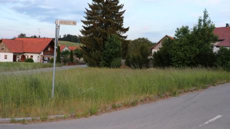 Am nördlichen Dorfeingang sollen drei Einfamilienhäuser entstehen – doch es sind noch Fragen zu klären.