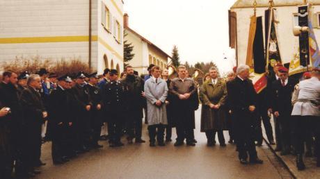 Beim Volkstrauertag 1996 kam der erste Kontakt zustande.