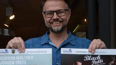 Hans Grünthaler holt die ersten Künstler wieder live auf die Bühne. Im Juli stehen bereits die ersten Konzerte an.