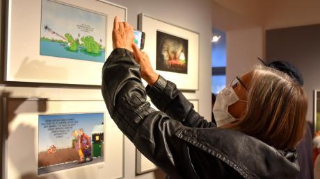 Das Schwabmünchner Museum macht am 21. März wieder auf. Auch die Ausstellung mit den Tierwelt-Cartoons von Uli Stein gibt es noch zu sehen.