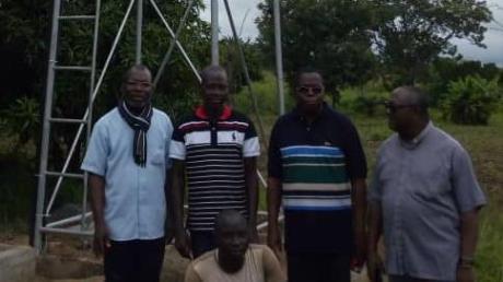 Die Brunnenanlage für die Priesterschule in Tchitchao in Togo ist fertiggestellt.