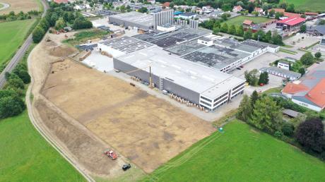 Im Herbst wurde das Schwabmünchner Unternehmen Ritter erweitert. Nun wird die Firma verkauft.