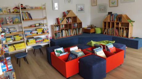 In der Bücherei Langenneufnach gibt es künftig auch eine Online-Ausleihe.