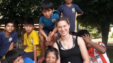 Rebekka Kuhn aus Klosterlechfeld hat ihren Freiwilligendienst in Bolivien verbracht.