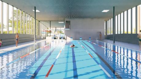 Seit 40 Jahren ist ein eigenes Hallenbad ein Thema in Schwabmünchen. Jetzt soll es gebaut werden. Die Stadt steckt in diesem Jahr dreieinhalb Millionen Euro in die Planung