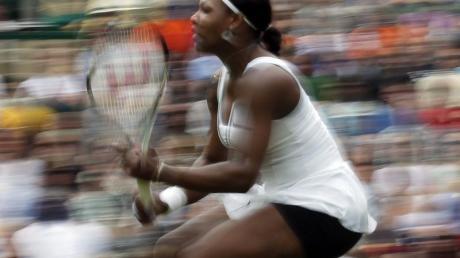 Serena Williams ist zurück auf dem Rasen von Wimbledon.