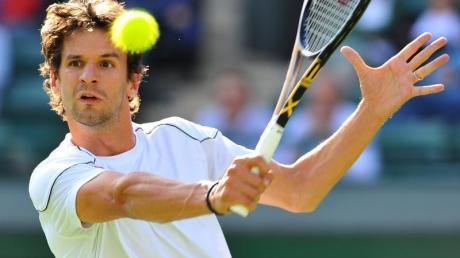 Tennisprofi Philipp Petzschner leidet an einer schmerzhaften Knochenhautentzündung an der Rippe.