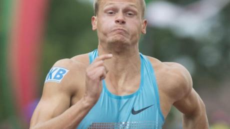 Pascal Behrenbruch hat den Zehnkampf in Götzis vorzeitig beendet.