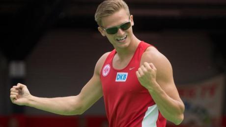 Zehnkämpfer Pascal Behrenbruch peilt bei der WM eine Medaille an.