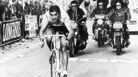 Der Belgier Eddy Merckx gewann die Tour de France fünfmal - unter anderem auch 1970.