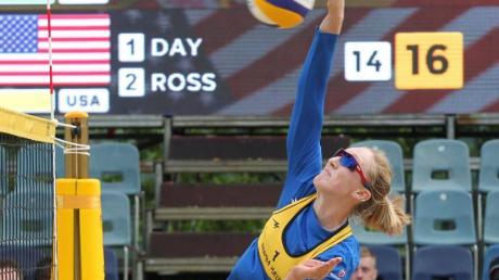April Ross wird künftig mit der dreimaligen Olympiasiegerin Kerri Walsh zusammenspielen. Foto:Tomasz Waszczuk