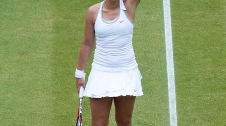 Sabine Lisicki gewinnt mit jedem Sieg an Sicherheit. Foto: Andy Rain