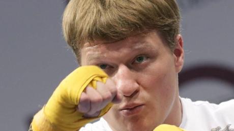 Alexander Powetkin will in der Heimat über Klitschko triumphieren.