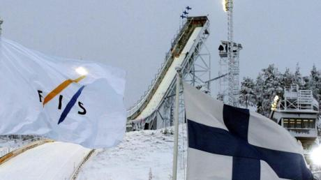 Im finnischen Kuusamo wurde der Skisprung-Weltcup abgesagt.