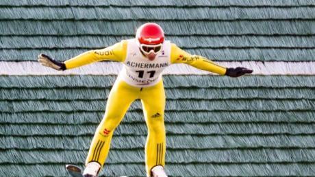 Richard Freitag sprang in Hinterzarten am weitesten und sicherte sich den Titel.Foto: Sigi Tischler