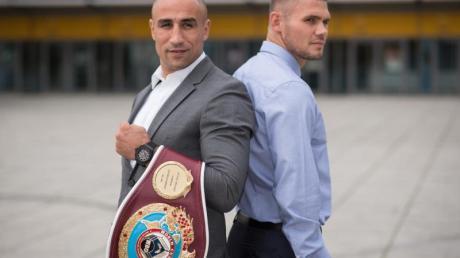 Arthur Abraham und Martin Murray stehen sich am 21. November im Ring gegenüber. Foto: Ole Spata