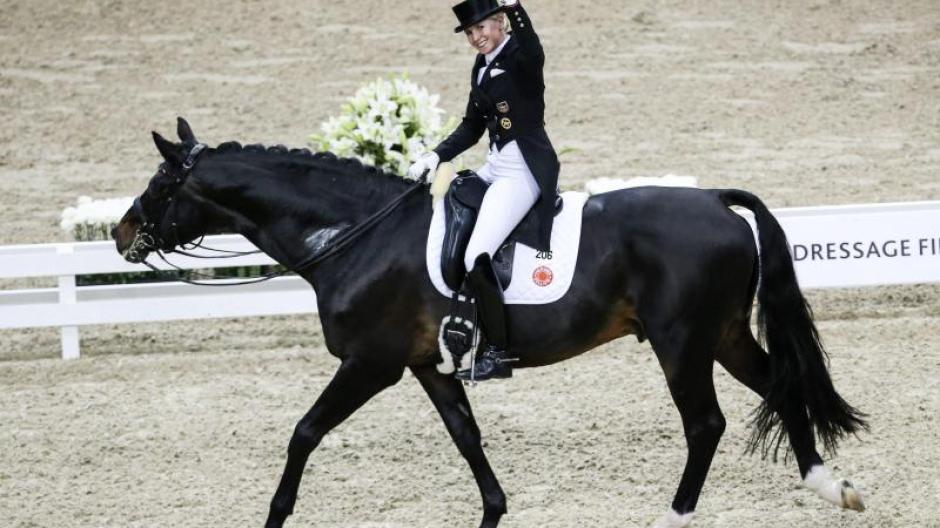 Pferdesport Dressurreiterin Von Bredow Werndl Verpasst Weltcup Sieg