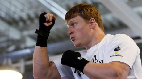 Boxer Alexander Powetkin wies Doping-Vorwürfe zurück.