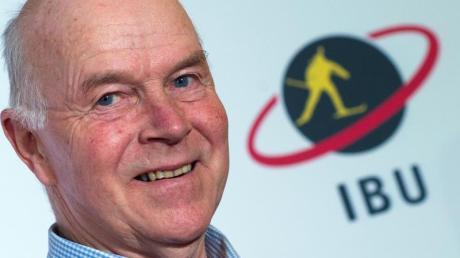 Anders Besseberg ist Präsident der Internationalen Biathlon Union.