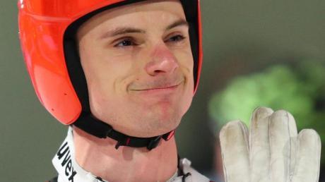 Andreas Wank gehört zum sechsköpfigen Aufgebot der nationalen Gruppen der deutschen Skispringer.