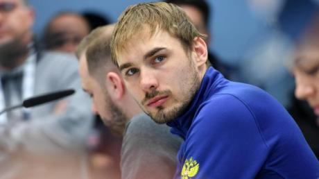 Anton Shipulin in Hochfilzen: «Ich bin für sauberen Sport und ich bin zu 100 Prozent sauber.» Foto: Martin Schutt