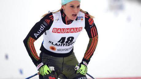 Nicole Fessel wird in der deutschen Damen-Staffel laufen. Foto: Hendrik Schmidt