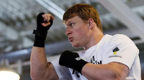 Alexander Powetkin wurde wegen Dopings suspendiert.