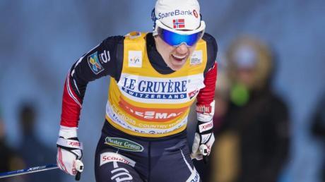 Heidi Weng aus Norwegen hat sich den Gesamt-Weltcup im Skilanglauf gesichert. Foto: Johanna Lundberg