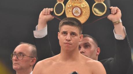 Tyron Zeuge ist derzeit einziger deutscher Boxchampion; von 21 Profikämpfen gewann er 20.