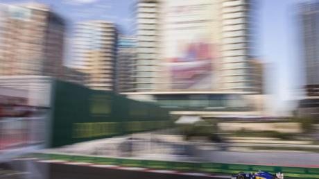 Die Formel 1 ist an diesem Wochenende zu Gast in Baku.