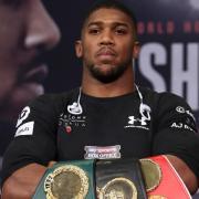 Boxweltmeister Anthony Joshua will seine Gürtelsammlung vergrößern Foto: Nick Potts/PA Wire