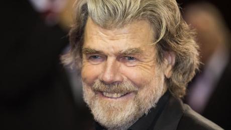 Bergsteiger-Idol Reinhold Messner.