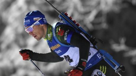 Simon Schempp in Aktion. Foto: Pontus Lundahl