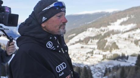 Mathias Berthold trainiert die Herren im deutschen Alpin-Team.