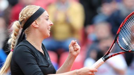 Sabine Lisicki hat in Taipeh das Viertelfinale erreicht.