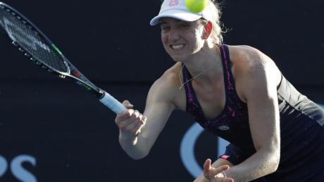 Mona Barthel spielt derzeit beim Turnier in Budapest.