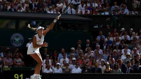 Angelique Kerber zeigte ein nahezu fehlerfreies Match.