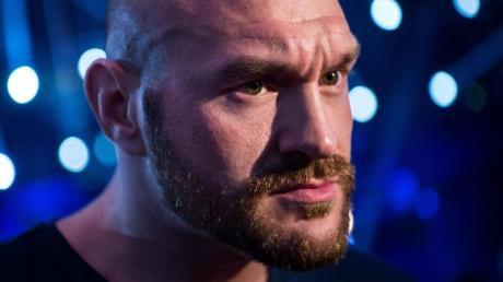 Tyson Fury boxt gegen Otto Wallin.
