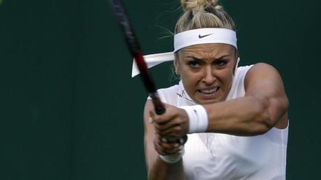 In der Qualifikation für die Australian Open gescheitert. Sabine Lisicki. Foto: Alastair Grant/AP