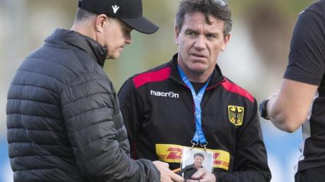 Mike Ford ist der Cheftrainer der deutschen Rugby-Männer. Foto: Jürgen Kessler