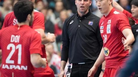 Dagur Sigurdsson ist der Trainer der japanischen Handball-Nationalmannschaft. Foto: Sven Hoppe